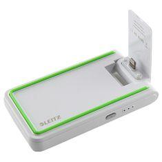 LEITZ Leitz 3in1 mobil töltő, fehér