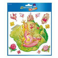 Avery Zweckform Okenní dekorace , Z-Design Kids, Princezna