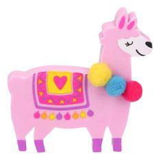 Top Model Gumovací pryž ASST, Růžová lama