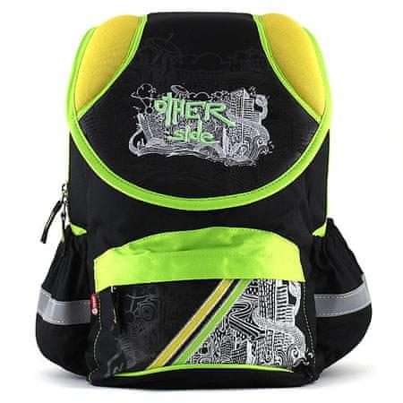 Target Školní batoh , žluto-zeleno černý