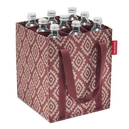 Reisenthel Taška na láhve , Růžová s diamanty | bottlebag
