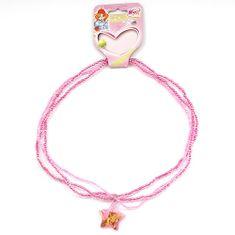 Winx Club Náhrdelník , Náhrdelník 06 Flora růžová