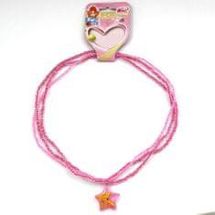 Winx Club Náhrdelník , Náhrdelník 06 Stella růžová