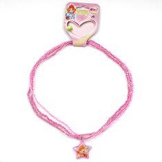 Winx Club Náhrdelník , Náhrdelník 06 Bloom růžová