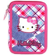 Hello Kitty Školní penál s náplní , , barevné kostky, růžová