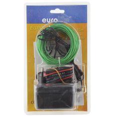Eurolite Efekt świetlny Eurolite, Sznurek neonowy Eurolite 10m, 2mm, zielony