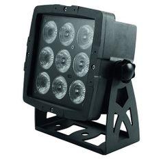 Eurolite Odbłyśnik Eurolite, Eurolite LED IP PAD 9x8W QCL