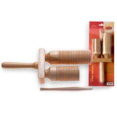 Stagg Dřevěné agogo , dřevěné zvonky s paličkou