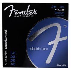 """Fender Struny pro baskytaru , Tvrdost 045""""/105"""""""
