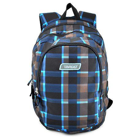 Target Cél diák hátizsák, Szürke-kék-fekete