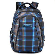 Target Šolski nahrbtnik 2in1 , Sivo-modro-črna
