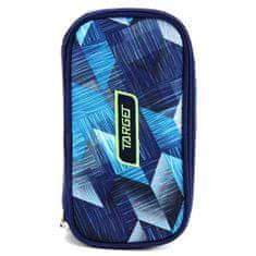 Target Piórnik szkolny bez docelowego wkładu, Kompaktowy, niebieski z wzorem