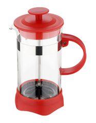 Renberg Konvička na čaj a kávu French Press 600 ml červená