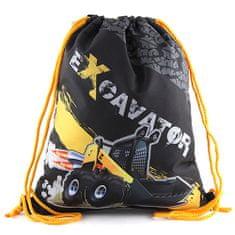 Target Ciljna športna torba, Bager, črn