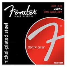 """Fender Struny pro elektrickou kytaru , Tvrdost 008""""/ 038"""""""