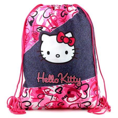 Hello Kitty športna torba, motiv kavbojk