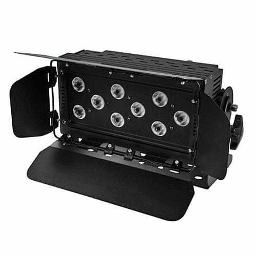 Eurolite Svetelný efekt , LED Wash 9x 8W QCL RGBW
