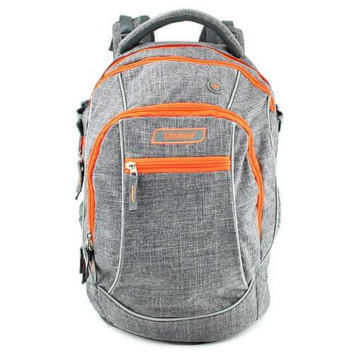 Target Študentský plecniak , Oranožovo/šedý