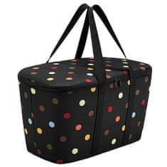 Reisenthel Chladicí taška , Černá s barevnými puntíky | coolerbag dots