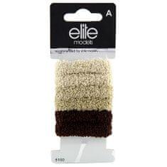 Elite Models Hajgumik 6 db , 6 db, barna, átmérő 5 cm