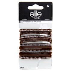 Elite Models Hajgumik 17 db , 17 db, barna, átmérő 7 cm