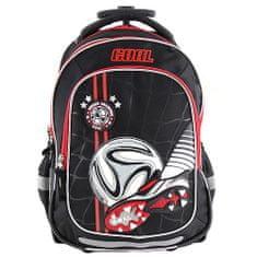 Target Docelowy plecak szkolny, 3D piłka i piłka, z kółkami i uchwytami