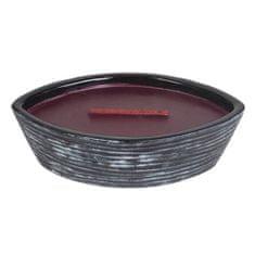 Woodwick Sviečka keramická dekoratívna váza , Čierna čerešňa, 368.5 g