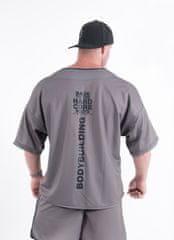 Nebbia 305 HARDCORE Shirt 305 (Grey, M)