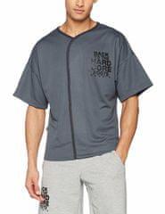 Nebbia 305 HARDCORE Shirt 305 (Grey, L)