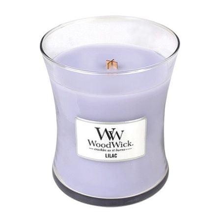 Woodwick Gyertya ovális váza , Lila, 275 g