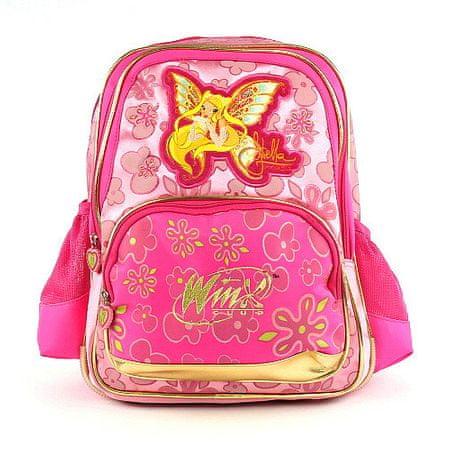 Winx Club Plecak szkolny Klub Winx, # 3 Zippers Gold Enchantix, WinX