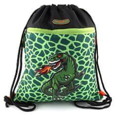 Target Ciljna športna torba, T-Rex, barva zelena