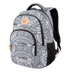 Target Ciljni nahrbtnik šole, Siva z vzorcem mandale