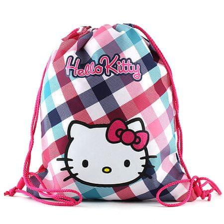 Hello Kitty Sportzsák , színes négyzetek