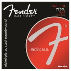 """Fender Struny pro baskytaru , Tvrdost 040""""/100"""""""