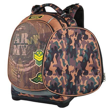 Target Cél iskolai hátizsák, Hadsereg, álcázás