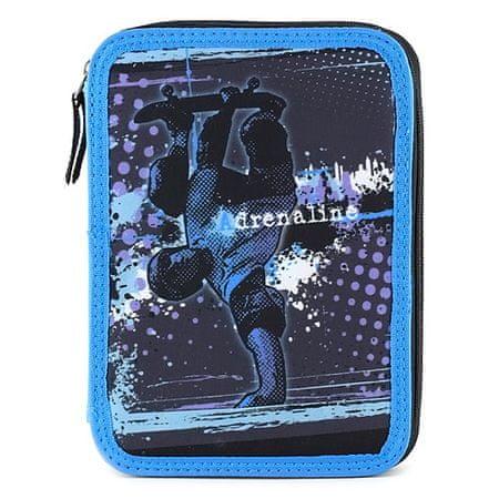 Target Iskolai ceruza tok cél kitöltéssel, Adrenalin, fekete-kék színű