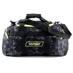 Target Cestovná taška , Kockovaná, čierna