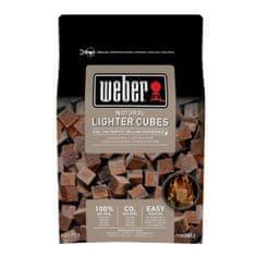 WEBER Prírodné podpaľovacie kocky hnedé , hnedé, ekologické, 48 ks v balení