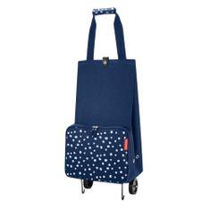 Reisenthel Nákupní taška , Modrá s puntíky, skládací   foldabletrolley