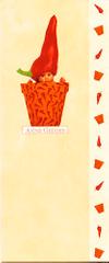 Anne Geddes Blahopřání , květináč červený paprika
