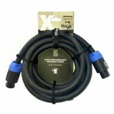 Stagg Stagg hangszóró kábel, XSP5SS25D