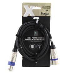 Stagg Stagg hangszóró kábel, XYC1-SM2SF25C