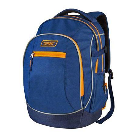 Target Cél diák hátizsák, Narancs-kék