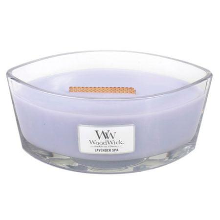 Woodwick Dekoratív gyertyaváza , Levendulafürdő, 453,6 g