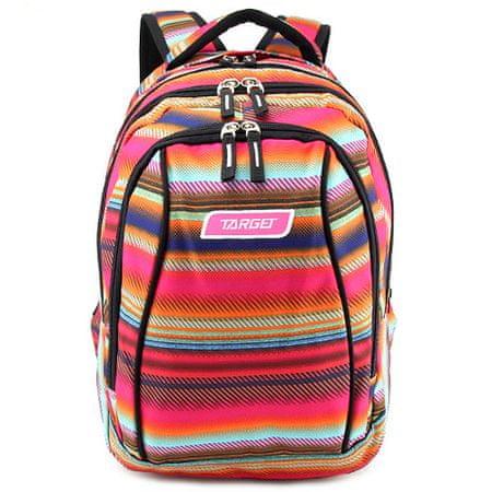Target Iskolai hátizsák 2in1 , Színes minták