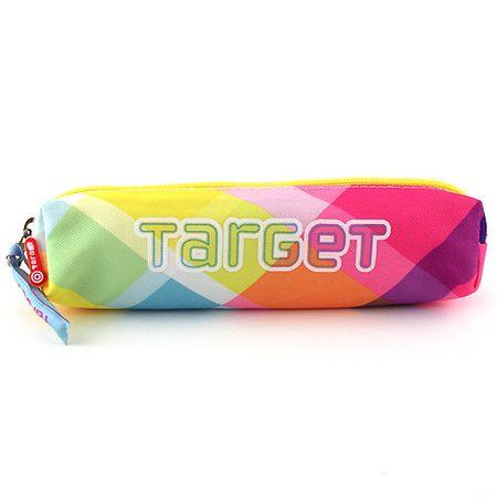 Target Iskolai tolltartó mini , színes négyzetek