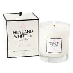 Heyland & Whittle Svíčka skleněná váza , Neroli a růže, 230 g