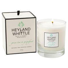 Heyland & Whittle Svíčka skleněná váza , Zelený čaj a grapefruit, 230 g