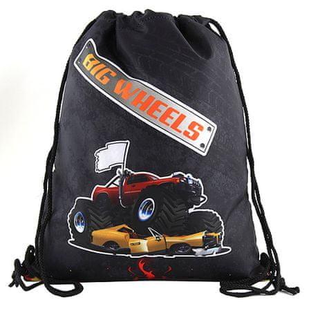 Target Ciljna športna torba, Velika kolesa, barva črna